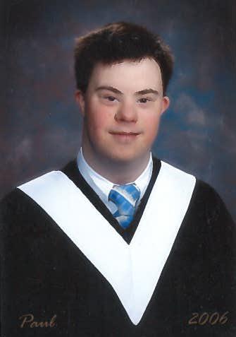 Paul's Graduation Photo, 2006