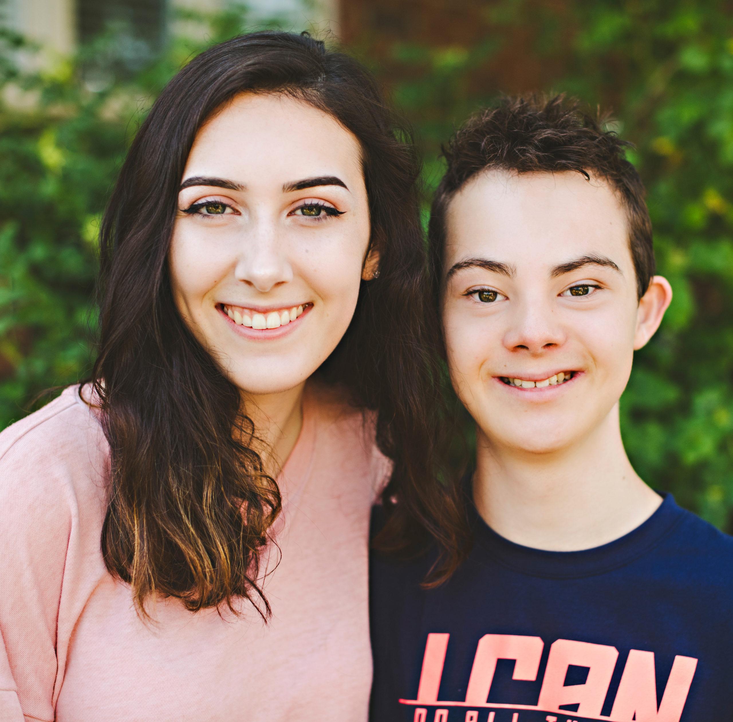 teenager and mom